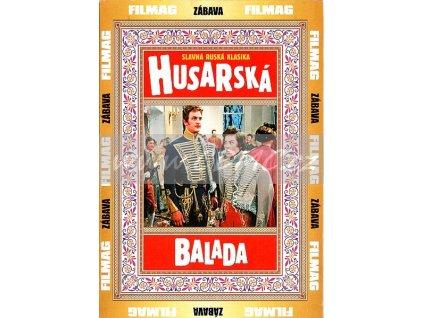 Husarská balada DVD papírový obal