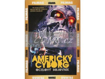Americký cyborg DVD papírový obal