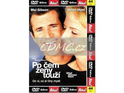 Po čem ženy touží DVD papírový obal