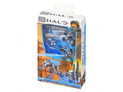 Mega Bloks Halo figurka Forerunner se zbraněmi (3602)