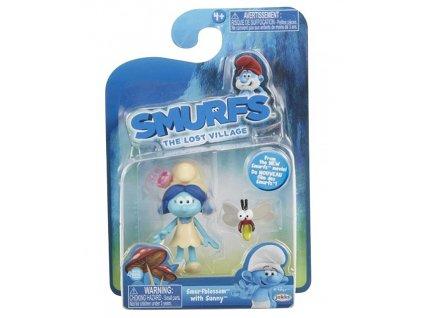 Šmoulové - figurka Lost Village Smurf a Sunny (9070)
