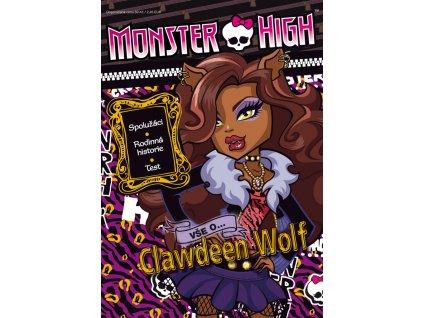 Monster High Vše o Clawdeen Wolf (5766)