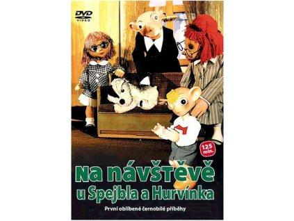 Na návštěvě u Spejbla a Hurvínka DVD papírový obal