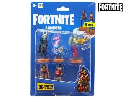 Fortnite Set 5 figurek s razítky 1 (5745)