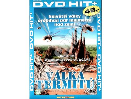 Válka termitů DVD papírový obal