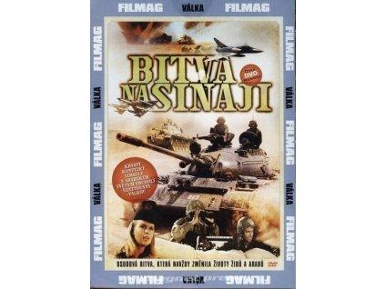 Bitva na Sinaji - DVD papírový obal