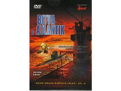 Bitva o Atlantik DVD papírový obal