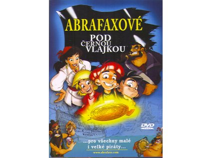 Abrafaxové pod černou vlajkou DVD