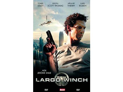 Largo Winch DVD papírový obal