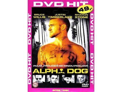Alpha Dog DVD papírový obal
