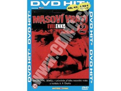 Masoví vrazi 2 Evilenko DVD papírový obal