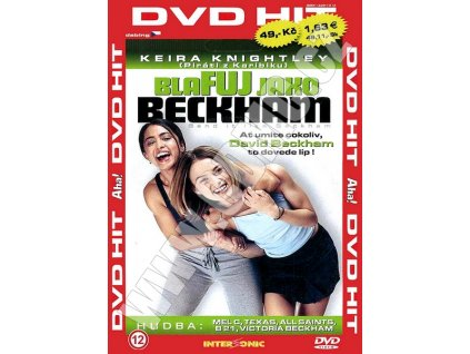 Blafuj jako Beckham DVD papírový obal