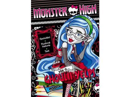 Monster High Vše o Ghoulii Yelps