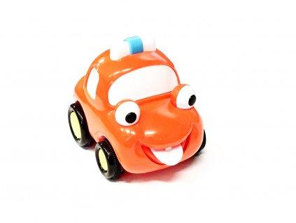 Q-Machines veselé auto oranžové (3913)