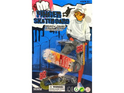 Finger Skateboard 96mm (0875Y) prstový fingerskate do ruky