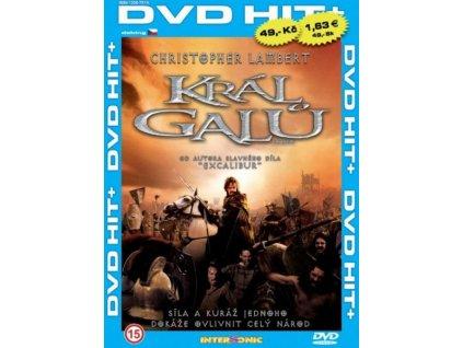 Král Galů DVD papírový obal