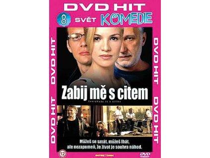 Zabij mě s citem DVD papírový obal