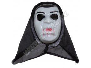 CDMC Maska Upír Bílý 3