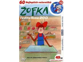 Žofka ředitelkou ZOO DVD papírový obal