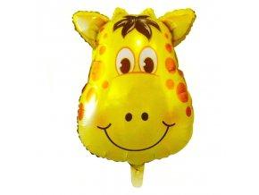 Nafukovací balónek hlava žirafy 46 cm