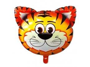 Nafukovací balónek hlava tygra 55 cm