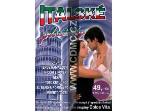Italské ploužáky CD papírový obal