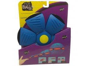 Flat Ball Disc se světlem - Modrý