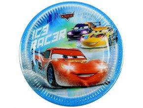 Papírové talířky Cars 23 cm (8333)