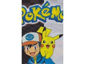 Plastový ubrus Pokémon 120 x 180 cm (7305)