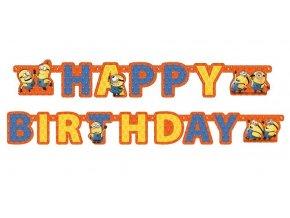 festone minions happy birthday