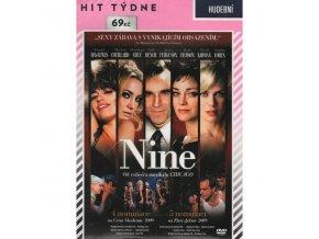 Nine DVD papírový obal