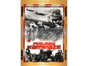 Poslední kamikaze DVD papírový obal