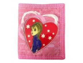 Cool peněženka (7913) srdce