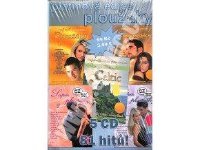 5CD - Platinová edice ploužáky (pošetky)