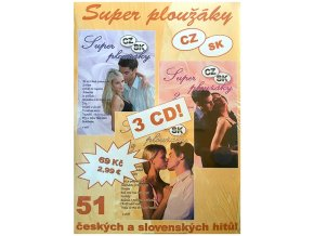 Super ploužáky - 3CD papírový obal