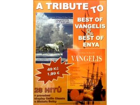 A Tribute To - Best of Vangelis & Best of Enya - 2CD papírový obal