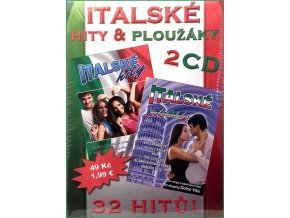 Italské hity & ploužáky - 2CD papírový obal