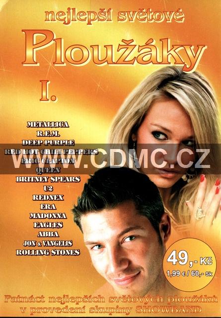 Nejlepší světové ploužáky I. CD papírový obal