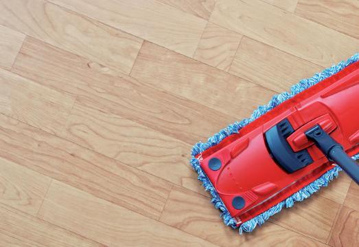 Péče a údržba podlahy