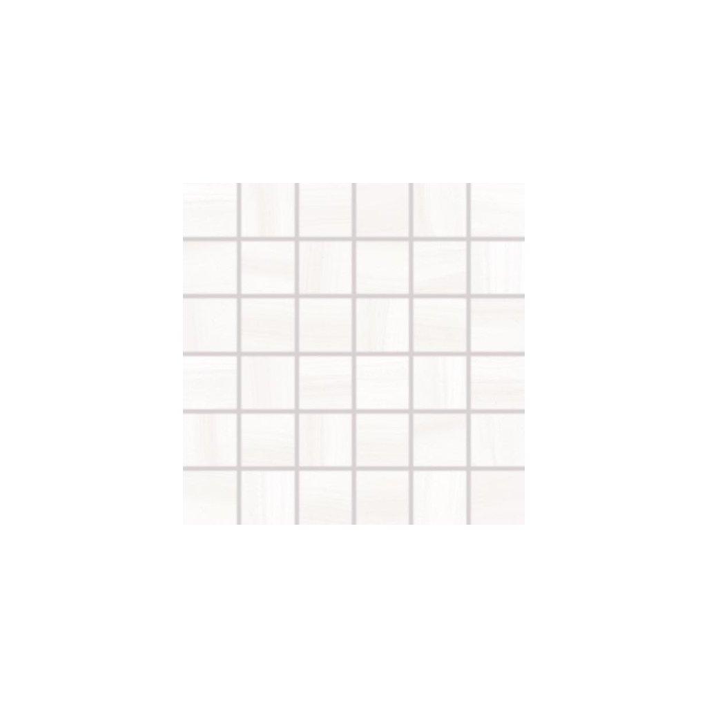 Mozaika Rako Air bílá 30x30 cm lesk WDM06039