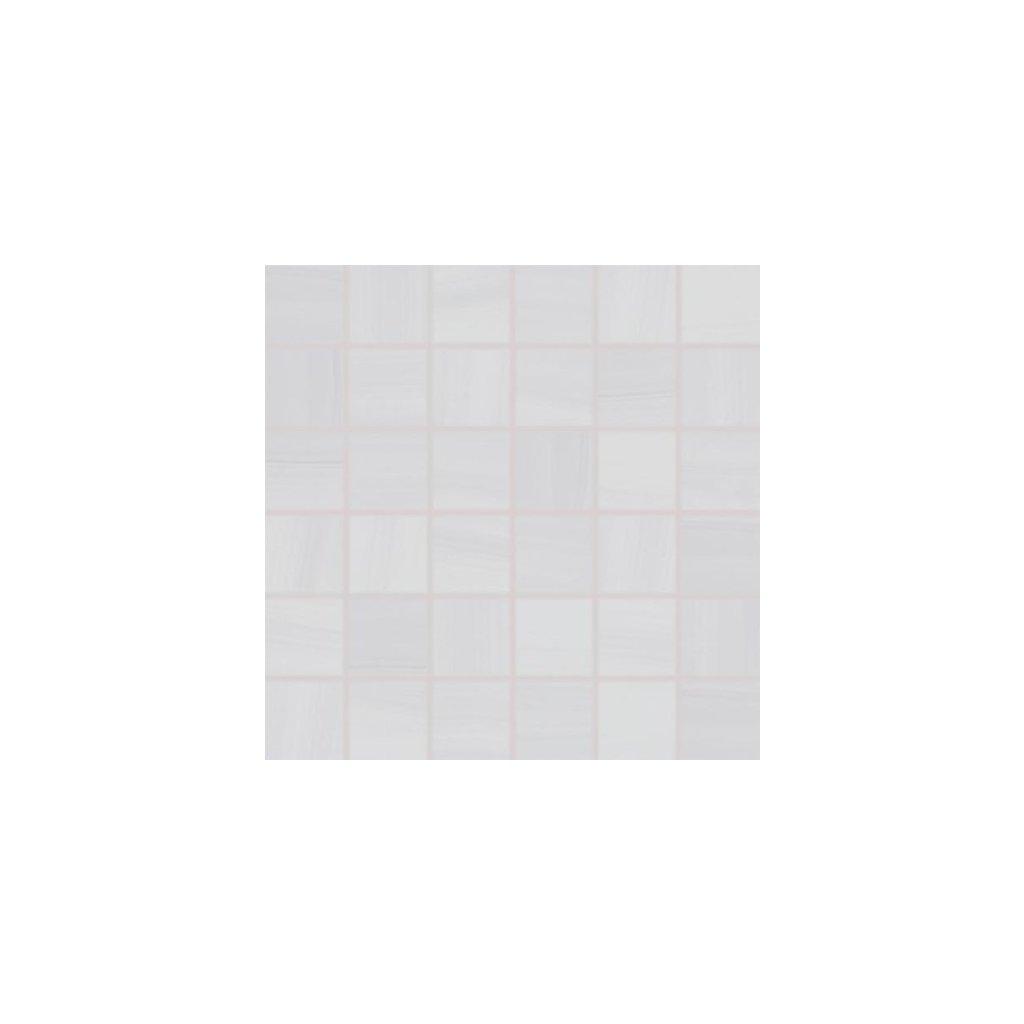 Mozaika Rako Air světle šedá 30x30 cm lesk WDM06040