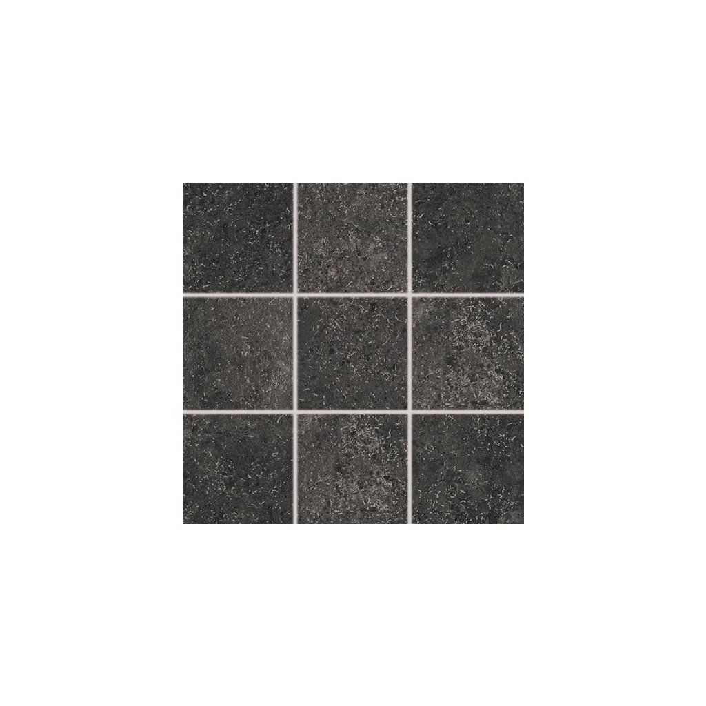 Dlažba Rako Base černá 10x10 cm mat DAR12433