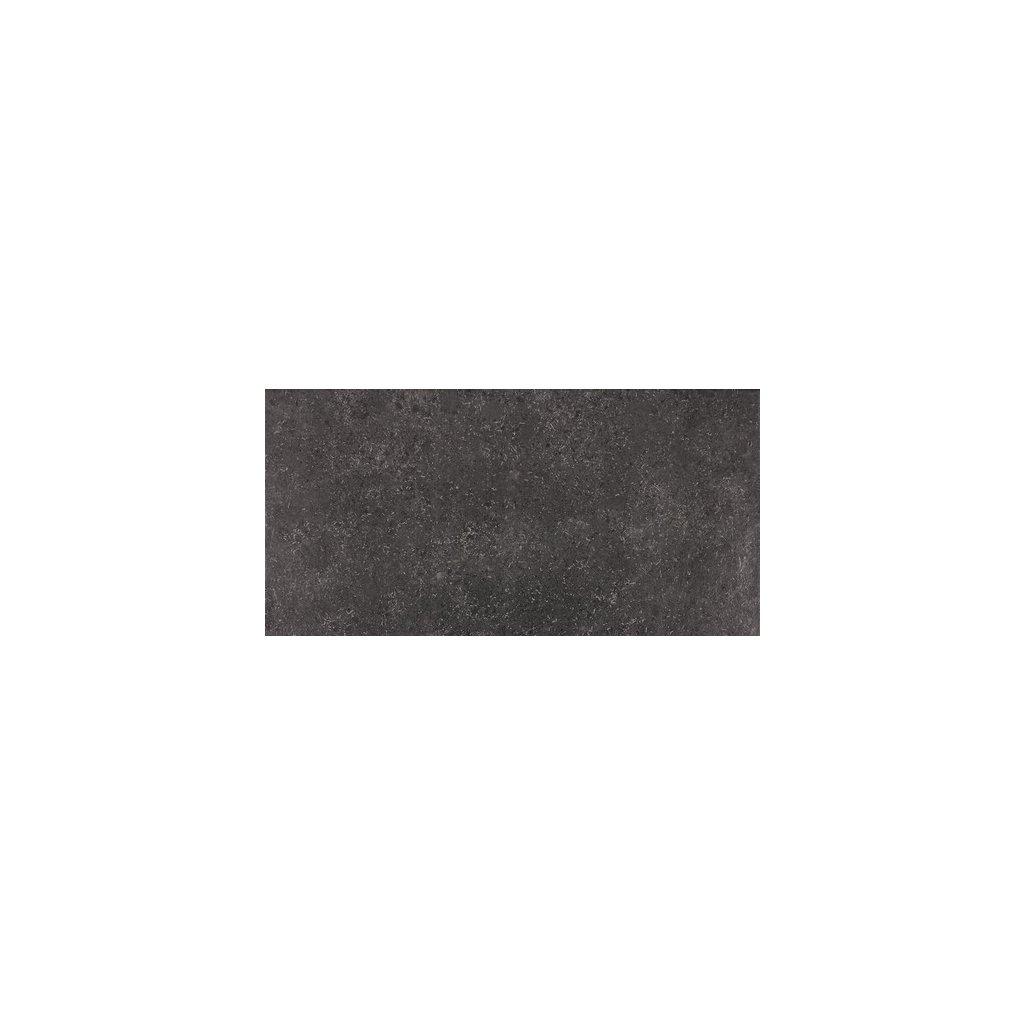 Dlažba Rako Base černá 30x60 cm mat DARSE433