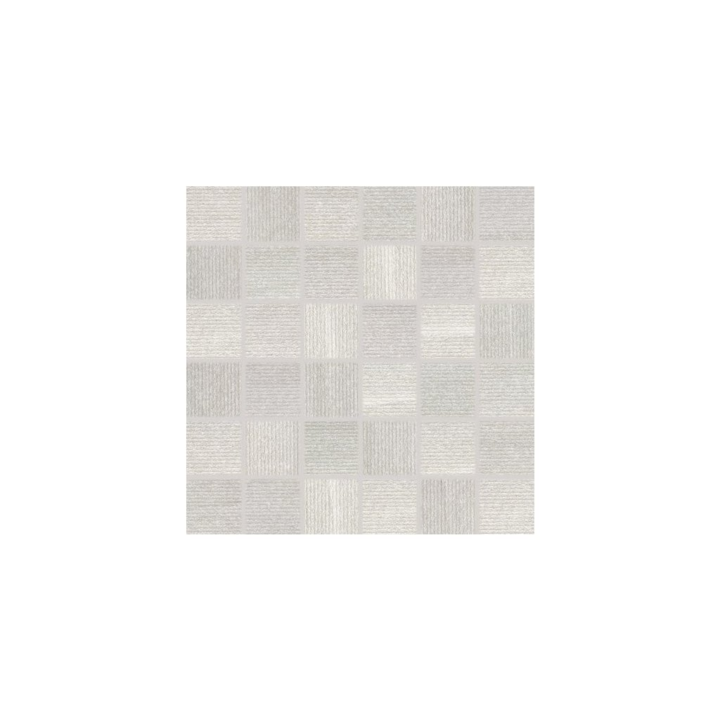 Mozaika Rako Casa šedá 30x30 cm mat WDM06531