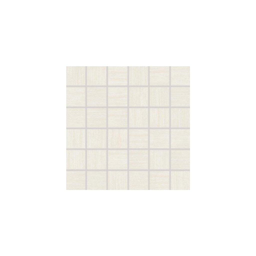 Mozaika Rako Defile bílá 30x30 cm mat DDM06360