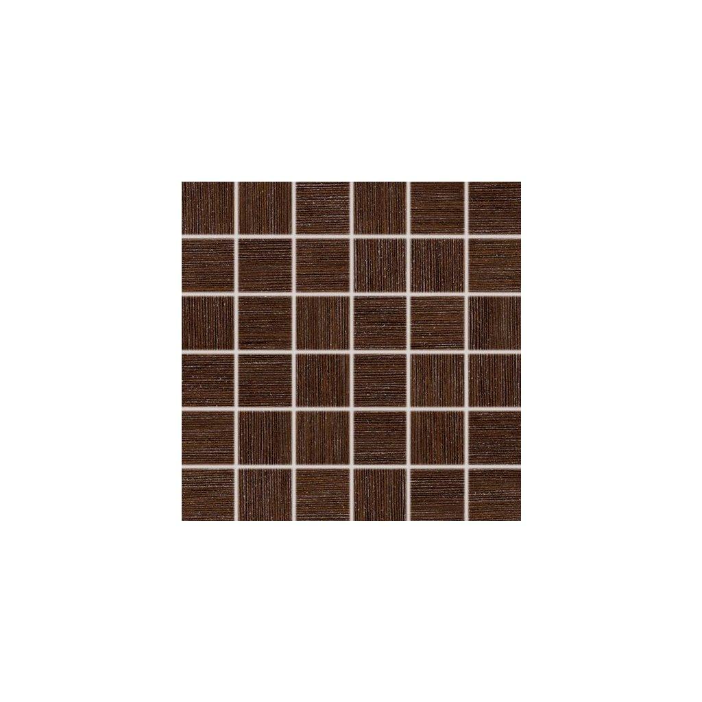 Mozaika Rako Defile hnědá 30x30 cm mat DDM06361