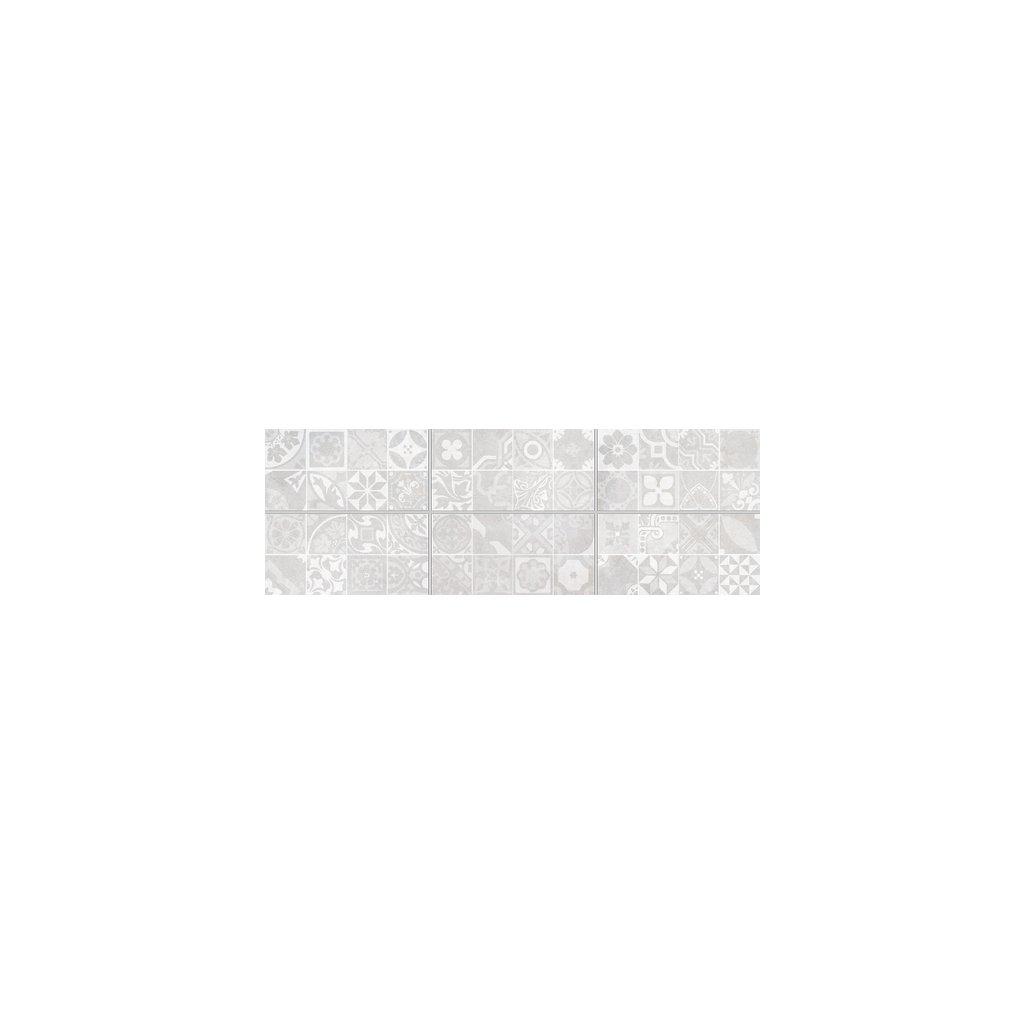 Obklad Rako Extra světle šedá 20x40 cm mat WADMB223