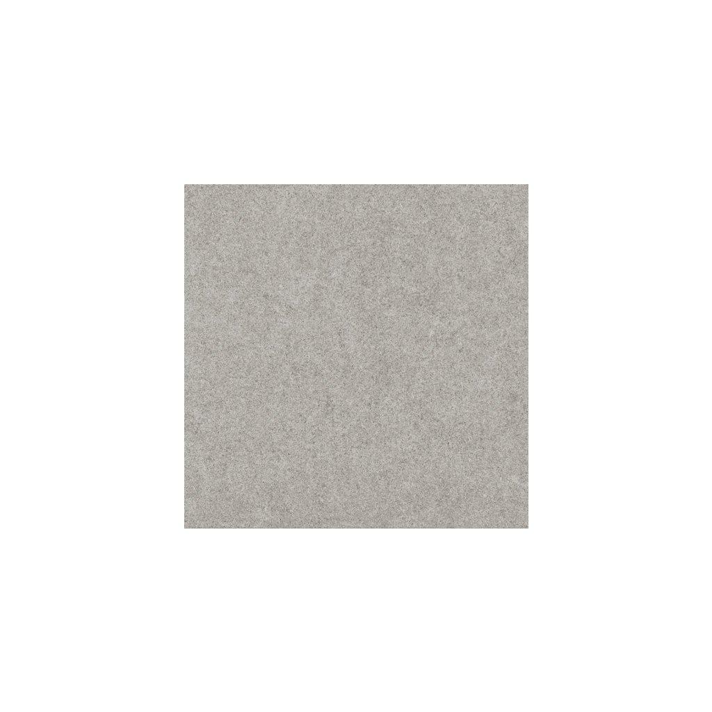 Dlažba Rako Rock světle šedá 60x60 cm mat DAK63634