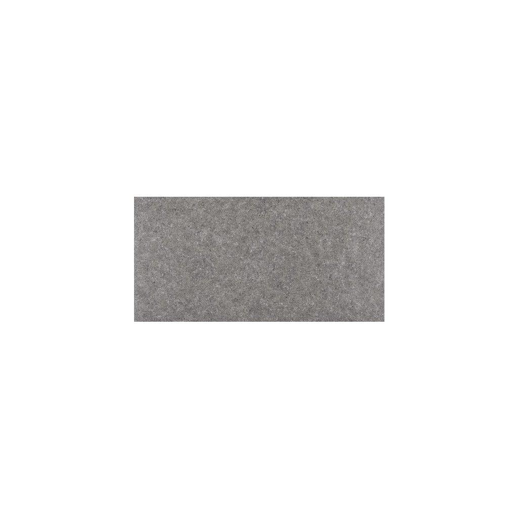 Dlažba Rako Rock tmavě šedá 30x60 cm mat DAKSE636