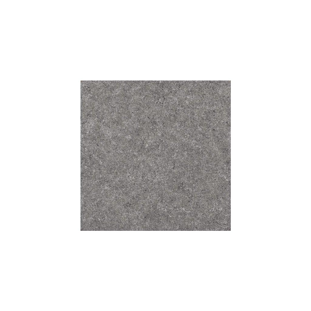 Dlažba Rako Rock tmavě šedá 60x60 cm hladká lapovaná DAP63636